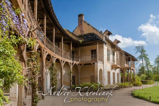 Дом королевы в деревне Марии-Антуанетты. Версаль. © Фотограф Андрей Хроленок
