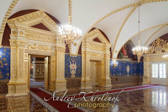 Святые сени Грановитой палаты. Кремль. Москва. © Фотограф Андрей Хроленок.