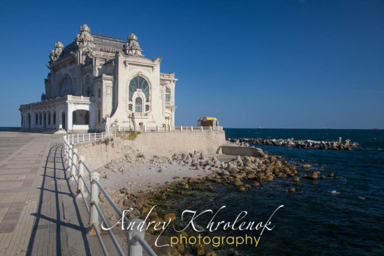 Casino Constanta an Art Nouveau (Art Nouveau). © Photographer Andrey Khrolenok