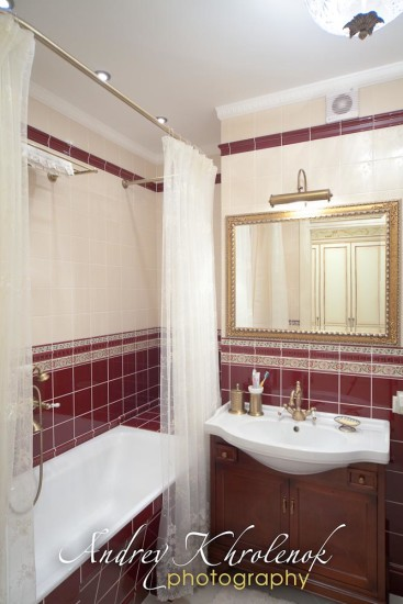 Интерьер ванной комнаты. © Андрей Хроленок