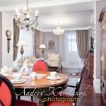 Интерьер столовой и гостиной. © Андрей Хроленок