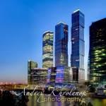 Панорама Москва-Сити. Ночь. © Андрей Хроленок