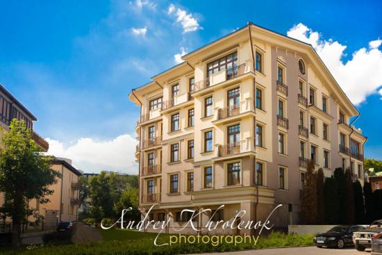 Фасад элитного жилого дома © Фотограф Андрей Хроленок