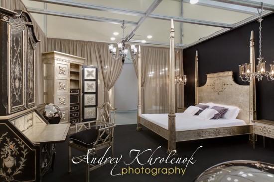 Общий вид спальни Patina. Фотосъёмка мебели для каталога © Андрей Хроленок