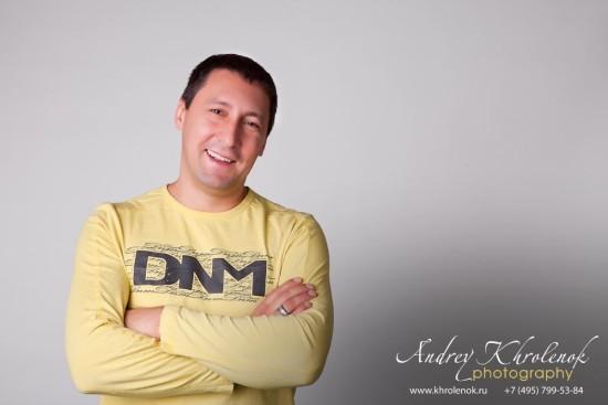 Портрет интерьерного дизайнера © Andrey Khrolenok