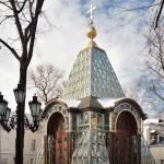 Alexander Nevsky Chapel (Crystal Chapel). Zurab Tsereteli, architect © Фотограф Андрей Хроленок
