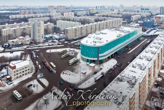 Вид на здание с высоты птичьего полёта © Фотограф Андрей Хроленок