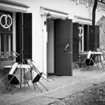 Уличное кафе. Площадь Старой Ратуши. Выборг © Фотограф Андрей Хроленок