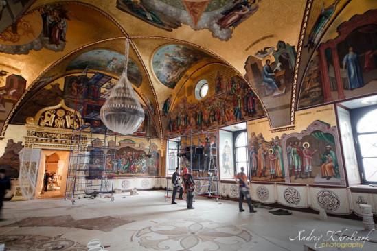 Грановитая палата Кремля. Реставрация. © Фотограф Андрей Хроленок