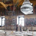 Реставрационные работы в Грановитой палате 2012 © Фотограф Андрей Хроленок