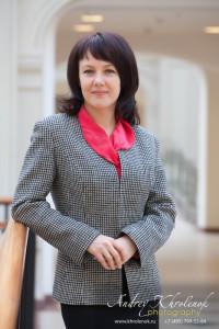 Портрет деловой женщины. © Фотограф Андрей Хроленок