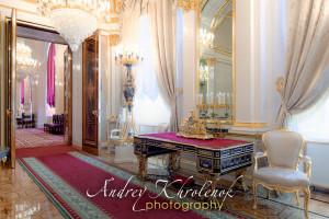 Гостиная в Собственной половине Большого Кремлёвского Дворца. © Фотограф Андрей Хроленок