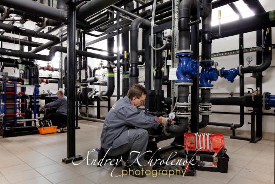 Технические помещения торгового центра. © Фотограф Андрей хроленок