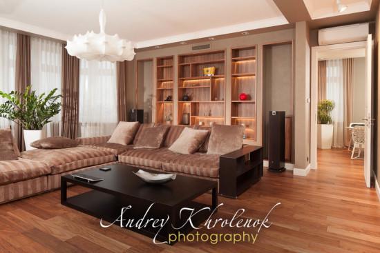 Фотосъёмка квартиры под продажу. © Фотограф Андрей Хроленок
