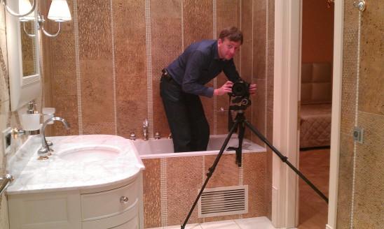 Бекстейдж со съёмки интерьеров элитной квартиры
