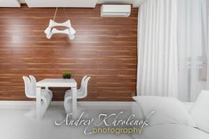 Комната в белых тонах. © Фотограф Андрей Хроленок