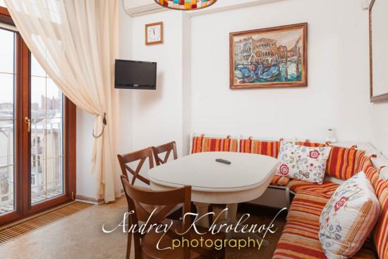 Столовая в жилой квартире. © Фотограф Андрей Хроленок