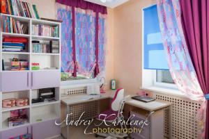 Фотосъёмка штор для рекламы производителя. © Photographer Andrey Khrolenok