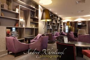 Зал для приватного общения в отеле Меркуре Павелецкая. © Photographer Andrey Khrolenok
