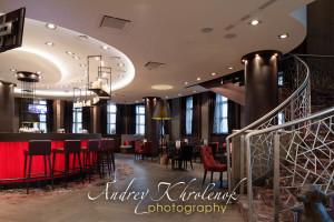 Барный холл отеля Меркуре Павелецкая. © Photographer Andrey Khrolenok