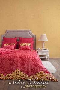 Фотосъёмка постельного белья в студии. © Photographer Andrey Khrolenok