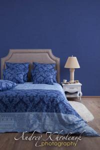 Фотосъёмка постельного белья в интерьерах. © Photographer Andrey Khrolenok