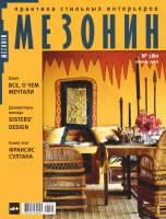 Обложка журнала «Мезонин» №180, апрель 2016